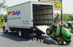 10' x 36 Rear/Side Door Van Ramp Wheelchair or Scooter Ramp 1,000 lb Capacity