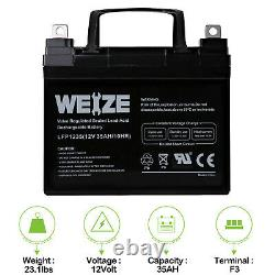 12V 35AH Jazzy Select GT Power Chair Scooter Battery 2 Pack