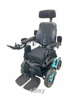 2019 Permobil F3 Power Chair 17x17 Elevate, Tilt, Recline, Legs 37 Miles