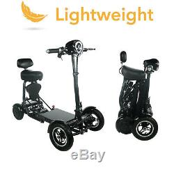 2020 Model Fold & Travel Lightweight Four Wheel Folding Bike Scooter