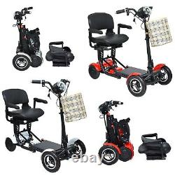 2021 Hawk Mobility PLUS Folding Lightweight Mobility Electric Wheelchair Scooter