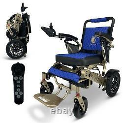 2021 Model Fold & Travel 19'' Remote Electric Power Wheelchair, Lightweight