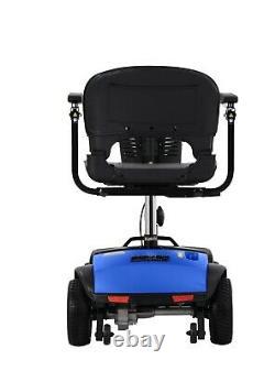 2021 Model Fold & Travel Electric Power Wheelchair, Lightweight 4 wheel Folding