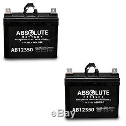 2PK 12V 35AH Battery for Pride Boxster Celebrity 2000 X Power Chair Scooter