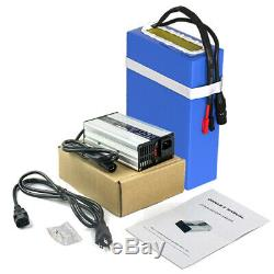 48V 20AH Ebike Battery Li-ion for 750W 1000W Electric Scooter Bicycle Wheelchair