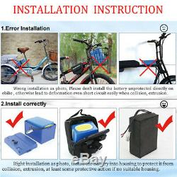 48V 20Ah Lithium Battery Pack Electric Wheelchair Scooter Ebike for 1000W Motor