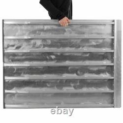 5' x 36 Aluminum Solid Threshold Ramp Wheelchair or Scooter Home Access
