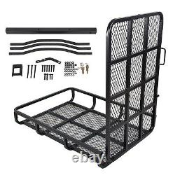 500 lbs Mobility Carrier Wheelchair Electric Scooter Medical Rack Hitch Ramp