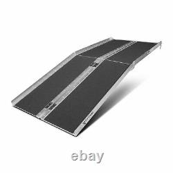 6' ft Aluminum Multifold Wheelchair Scooter Mobility Ramp portable 72 (MF6)