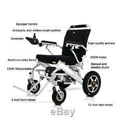 Air Hawk Lightweight Fold Electric Power Wheelchair Power Scooter Wheel chair
