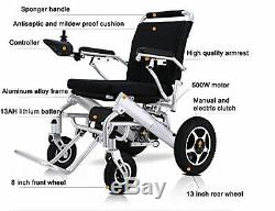 Air Travel Lightweight Fold Electric Power Wheelchair Power Scooter Wheelchair