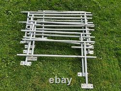 Aluminum Scooter Wheelchair Handicap Ramp, 42' Ramp, with 2 Platform, Pickup Only