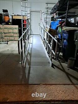Aluminum scooter/wheelchair RAMP 18' Indoor/outdoor. STURDY