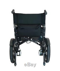 Automated Mobile Electric Wheelchair Folding Lightweight Power Mobility Scooter