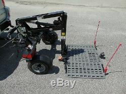 Bruno Chariot ASL-700 Power Wheelchair Scooter Lift Trailer 350lb Capacity NICE