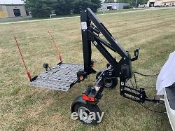 Bruno Chariot Electric Wheelchair Scooter Lift 350 lb Lift Capacity