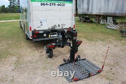 Bruno Chariot Model ASL-700 Electric Wheelchair Scooter Lift 350 lb Lift Cap