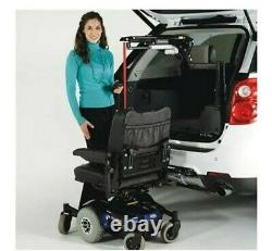 Bruno VSL-6900 Boom/Crane Electric Heavy Duty Wheelchair Lift 400 lb Capacity