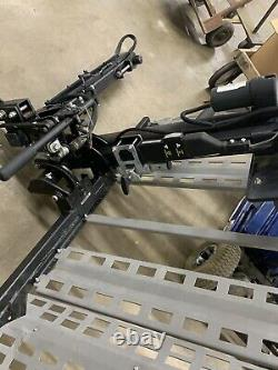 Bruno's ASL-250 exterior platform Wheelchair scooter powerchair lift SUV Vehicle