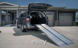 EZ-Access Single Fold Portable Aluminum Wheelchair and Scooter Suitcase Ramp