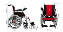 Electric Foldable Wheelchair Elderly Scooter Medical Vehicle Deliver to Door