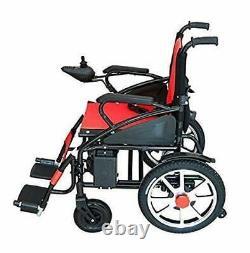 Electric Motorized Power Wheelchair Foldable Lightweight Heavy Duty Powerchair