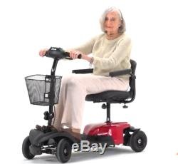 Electric Travel Adult Scooter Wheelchair Armrests 4 Wheel Medical Transportable