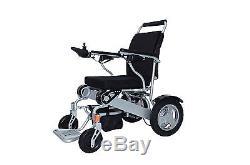 Electric Wheelchair Mobility Folding 12 Travel Lite EZ Mobi Cruiser 12 AH