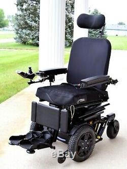 Electric wheelchair Quantum 4front runs 6 mph 2018 model unmatched performance