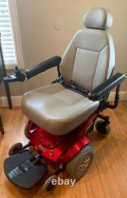 Excellent Jazzy Select GT Electric Power Wheelchair Scooter New Gel Batteries
