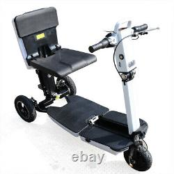 Foldable Electric Mobility Scooter Lightweight Motorized Wheelchair 3-Wheel 48V