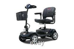 Folding 4 wheel Electric Power Mobility Scooter Transport Travel Wheel Chair USA