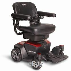 GO-CHAIR Pride Mobility Electric Powerchair + 1 Yr Service & Accessory Bundle