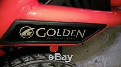 GP162 Golden Technologies Literider Envy ElectrIc Powerchair. Red