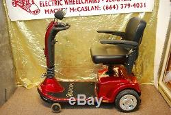 Golden Companion 3-Wheel Electric Scooter Wheelchair SEAT LIFT & NEW BATTERIES