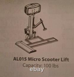 Harmar AL015 Micro Electric Scooter Wheelchair Lift /Swingaway-100 lb Capacity