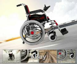 Hot Electric Foldable Wheelchair Elderly Scooter Medical Vehicle Deliver to Door