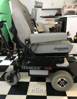 Hoveround Teknique XHD Power Chair Wheelchair Series II 2 Mobile Scooter