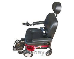 Jazzy Elite ES-1 Powered Wheelchair Mobility Scooter + 2 New Batteries + Charger