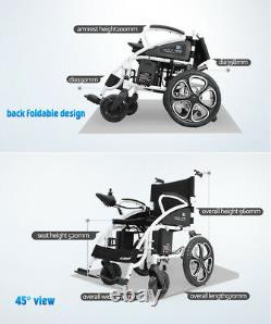 Lightweight Electric Wheelchair Mobile Automated Wheelchair Power Scooter