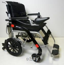 Lightweight electric foldable wheelchair, mobility scooter, airline approved Li