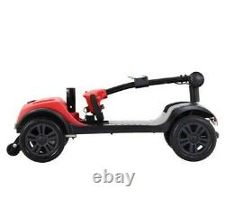 Metro 4 wheel electric powered wheelchair compact mobility scooter
