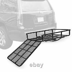 Mobility Carrier Wheelchair Electric Scooter Rack Hitch Disability Medical Ramp