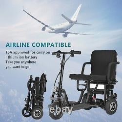 Ontrip 3 Wheel Folding Electric Mobility Scooter Electric Powered Wheelchair