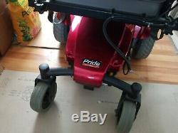 Open Box Pride Mobility Jazzy Select with new batteries, charger and full manual