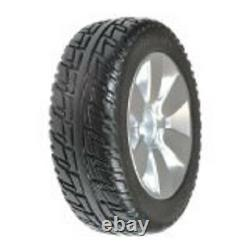 Pair of (2) 9 X 3 Black Jazzy Select Elite 6 & Sport 2 Solid Drive Tires