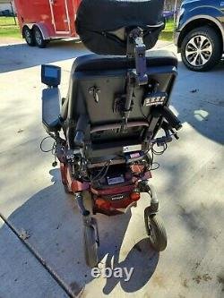 Permobil C300 Power Chair with TILT, RECLINE & LEGS HEAD, TAIL LIGHTS DIGITAL