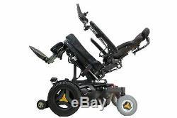 Permobil F3 Power Wheelchair Seat Elevate, Tilt, Recline, Legs Lighting Kit