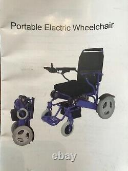 Portability Razor Discovery Electric Mobility Chair, Excellent Condition, 2020
