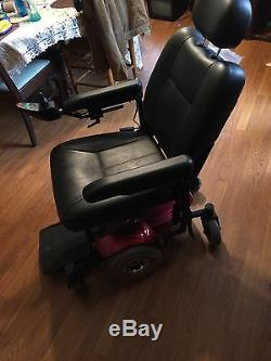 Power mobility, Pronto M41 red power chair
